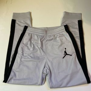 Nike Air Jordan Boys Active Sweatpants Gray, Blck